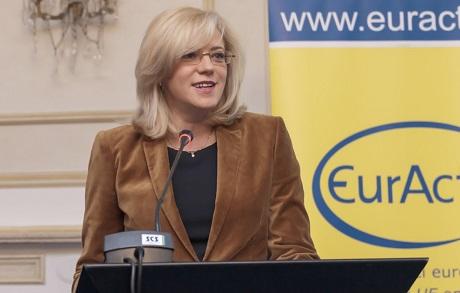 Corina Crețu, Comisar european pentru politică regională